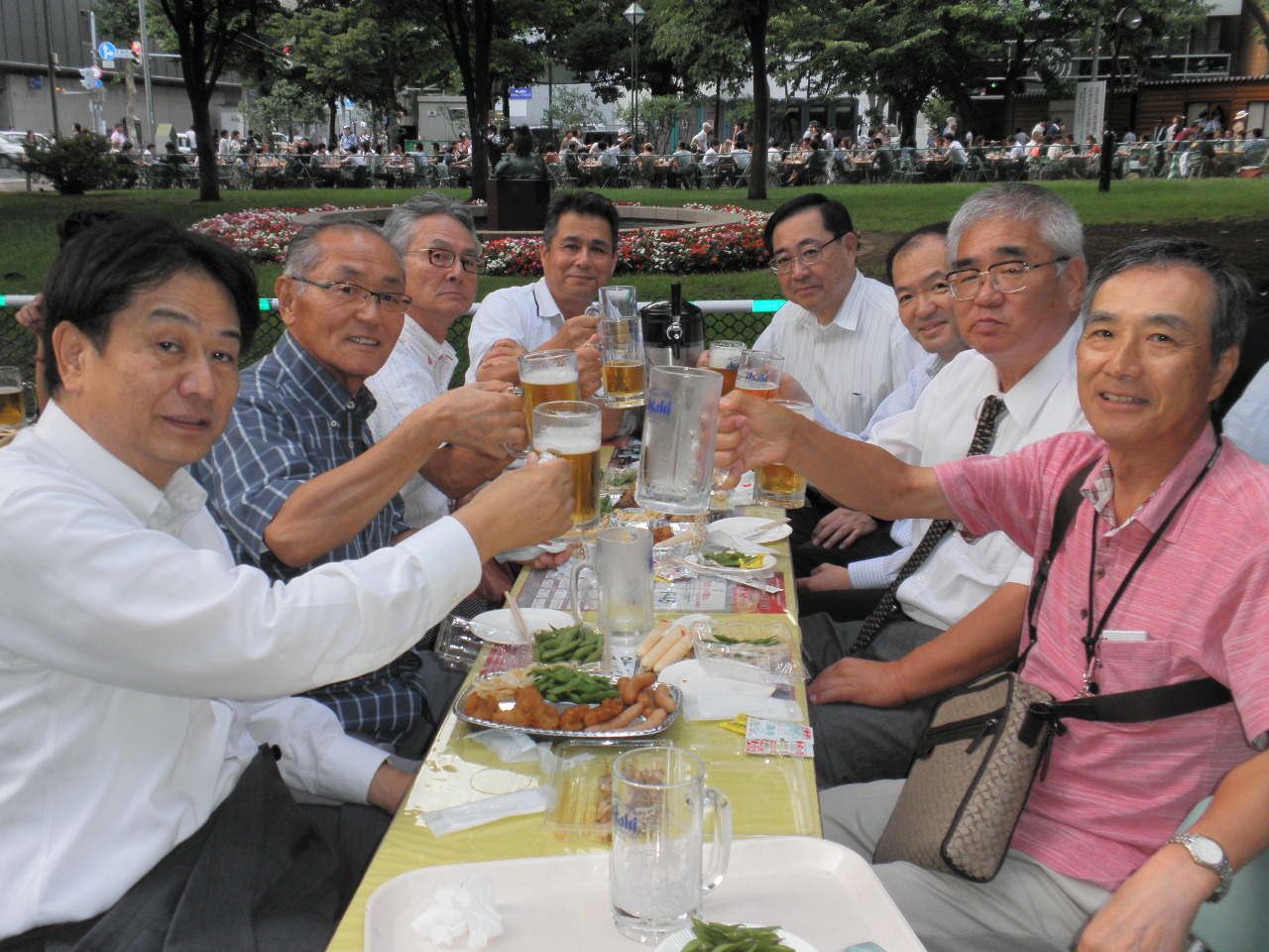 """夏の風物詩""""大通り公園ビアガーデン""""始まる!"""