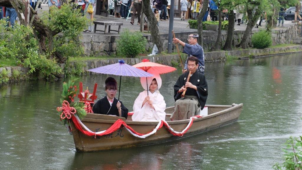 271001 瀬戸の花嫁倉敷川流れ 中国同友会 倉田