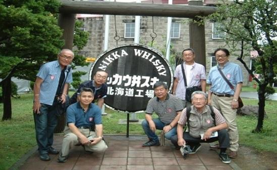 (左から)山本、高橋、野沢、中村、今井、江部、滝口